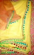Most Beautiful Saree Designer Chiffon with New Border with Blouse on Sale Sale