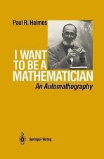 I Want to be a Mathematician: An Automathography-ExLibrary