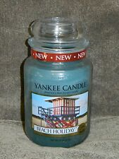 Yankee Candle 22 oz Large Jar Candle  New --- Beach Holiday