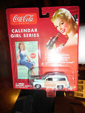 1950 MERCURY WOODY COCA COLA CALENDAR GIRL SERIES JOHNNY LIGHTNING SHIPS FREE!!!