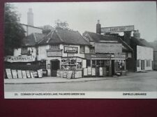 POSTCARD LONDON ENFIELD - CORNER OF HAZELWOOD LANE PLAMERS GREEN 1909
