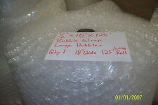 "1/2"" WP Large Bubble + Wrap my Padding Roll. 125' x 18"" Wide 125FT Perf 12"""
