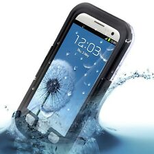 Black New Waterproof Shock Protective Case Cover for Samsung Galaxy S3 III i9300