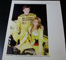 Lot10 - DAMON HILL & JORDON Katie Price PAGE 3 - Motor Racing PRESS PHOTOS
