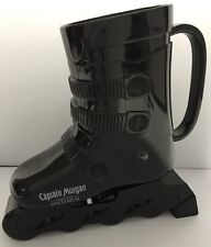 CAPTAIN MORGAN Black SKI BOOT SKIING PROMOTION ADVERTISING DRINKING CUP MUG