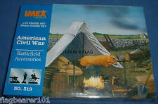 IMEX 519 AMERICAN CIVIL WAR BATTLEFIELD ACCESSORIES 1/72 SCALE