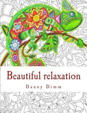 Beautiful relaxation Coloring book for everyone, New, Free Shipping