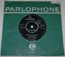 THE BEATLES, CAN'T BUY ME LOVE*YOU CAN'T, 1964, PARLOPHONE R 5114, 1st ISSUE, EX
