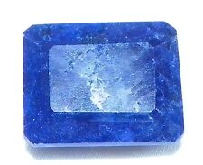 120 CTS, Octagon Shape Certified natural African Blue Sapphire