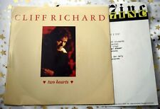 CLIFF RICHARD - Two Hearts / Yesterday today forever * TOP SINGLE (M-:)  m. INFO