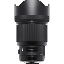 **NEW** Sigma 85mm f/1.4 DG HSM Art Lens for Canon EF **AUTHORIZED DEALER**