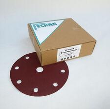 50 Ruote A strappo Ø 150mm P60 9hole Ex-centro dischi molatura Carta abrasiva