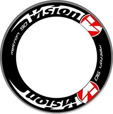 VISION metron 90 Carbon Bike/Cycling/Cycle/Push Bike Wheel Decals Stickers 2RIMS
