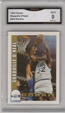 SHAQUILLE O'NEAL - 1992 / 1993 HOOPS - ROOKIE CARD -- #442 -- GRADED MINT 9