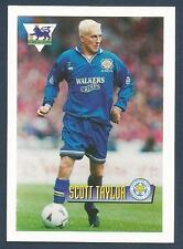 MERLIN-1996-COLLECTOR CARD SERIES 96 - #27-LEICESTER CITY-READING-SCOTT TAYLOR