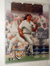 PERFECT DAY IN YANKEE HISTORY - David Wells limited edition photo