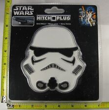 STAR WARS STORM TROOPER HITCH COVER PLUG SOLID METAL TRUCK TRAILER NEW L882