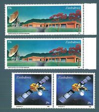 ZIMBABWE - 1985 - Earth Satelite Station