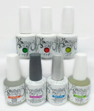 Harmony Gelish FANTASTIC FOUR - 7pcs Kit - Base-Top-pH Bond-Oil + FREE 3 COLORS