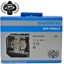 NEW 2016 Shimano Multi-Purpose Dual Sided SPD Platform Pedals & Cleats PD-M324