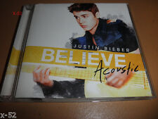 JUSTIN BIEBER believe ACOUSTIC cd BOYFRIEND as long as you love me BEAUTY & BEAT