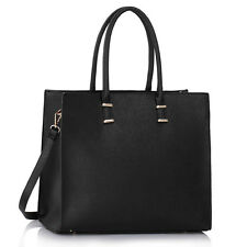 Ladies Women's Large Designer Fashion Tote Bags Shoulder Handbag College Bag