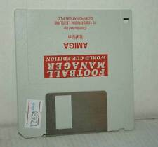 FOOTBALL MANAGER WORLD CUP EDITION USATO SOLO FLOPPY AMIGA ED ITA CC4 48921