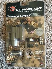 Streamlight Sidewinder Compact LED Tactical Flashlight MOLLE Helmet Mount