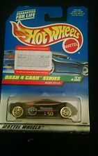 1997 Hot Wheels Dash 4 Cash Series AUDI AVUS NIP