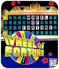 WHEEL OF FORTUNE MOUSE PAD 1/4 IN. BOARD GAME MOUSEPAD