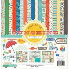 NEW ECHO PARK PAPER WALKING ON SUNSHINE 12X12 COLLECTION KIT