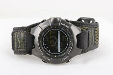SUUNTO OBSERVER WRISTWATCH W/ OLIVE GREEN VELCRO BAND  6353