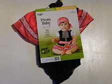 Child Girl 12-18 months Pirates of the Caribbean like Halloween Costume NO SKIRT
