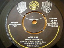 "PHILLIP GOODHAND TAIT - YOU ARE  7"" VINYL"