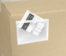 5.5x7.5 Clear Packing List Invoice Envelopes 5000 QTY ( 2.5 mil ) 5x7