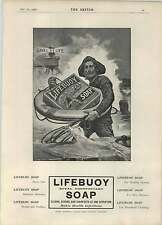 1902 Lifebuoy Royal Disinfectant Soap Saves Lives