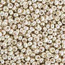 20 Grams Japanese Miyuki 8/0 Seed Bead - Silver Galvanized - 3mm (8-1051)