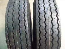 TWO 500x10, 500-10, 5.00x10, 5.00-10 Eight ply Tubeless  Boat Trailer Tires