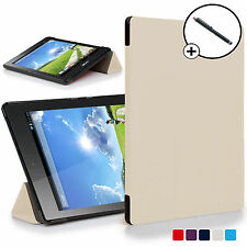 Forefront Custodie Bianco Pieghevole Smart Cover Acer Iconia One 7 B1-780 Stilo