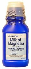 MAJOR MILK OF MAGNESIA ORIG MAGNESIUM HYDROXIDE-400 MG/5ML White 12OZ