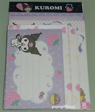 2014 Sanrio Kuromi package of Letter Set Stationery