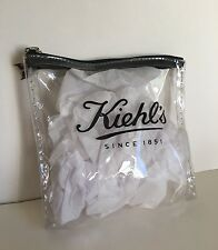 Brand New! Kiehl's Clear Makeup Bag Cosmetic Case Zipper Pouch