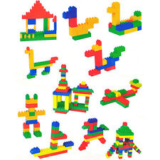 144pcs Plastic Building Blocks Children Kids Toy Puzzle Educational Gifts