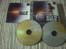 PLAYSTATION 1 PS1 WILD ARMS 2ND IGNITION JAPONÉS USADO BUEN ESTADO