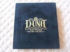 D-Unit 1st Album Welcome to Business Autographed PROMO CD K-POP T-ara Boram