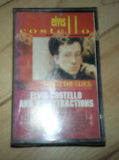 NEW SEALED  CASSETTE TAPE ELVIS COSTELLO AND THE ATTRACTIONS PUNCH THE CLOCK