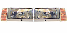 VOLVO 740 1983-89 760 -86 EUROPEAN H4 HEADLIGHTS