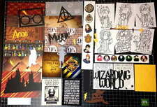 Harry Potter Scrapbook  Kit!  Project Life Universal Studios Wizard Paper