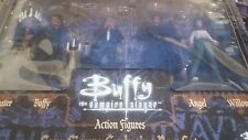 Buffy Vampire Slayer Four figure action figure box set Master Angel Willow