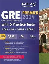 GRE Premier 2014 with 6 Practice Tests by Kaplan (2013)Book+DVD+Online +Mobil